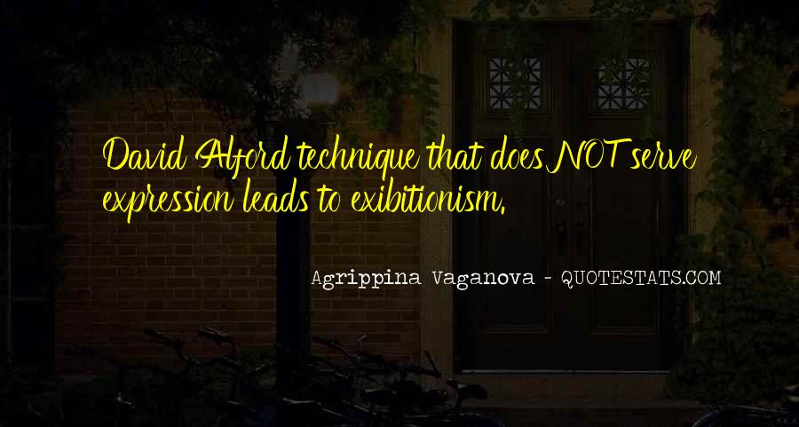 Agrippina Vaganova Quotes