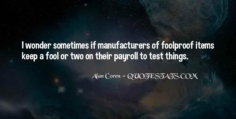 Alan Coren Quotes #704920