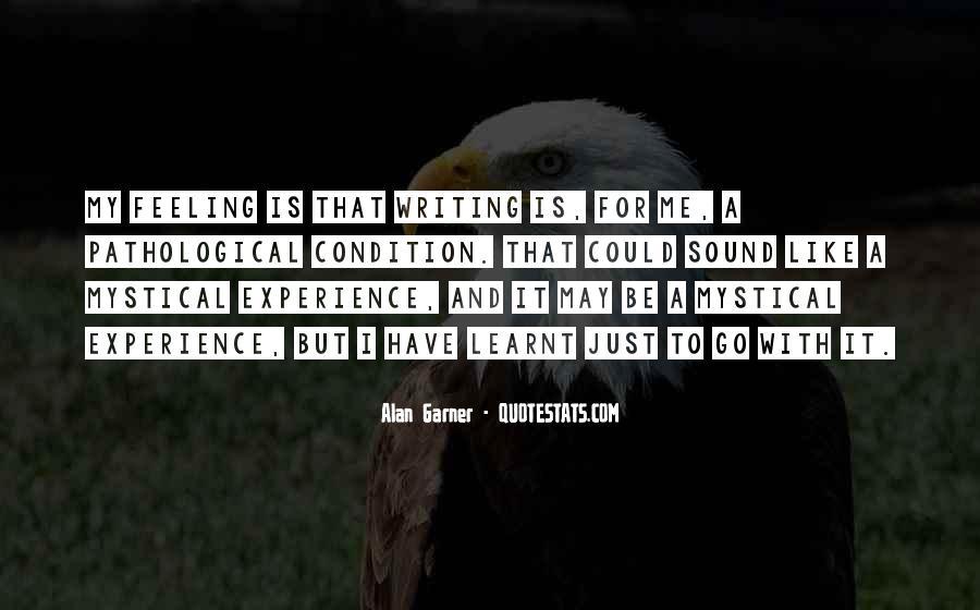 Alan Garner Quotes #244634