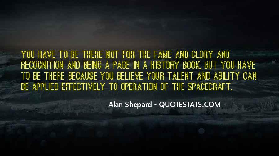 Alan Shepard Quotes #1112570