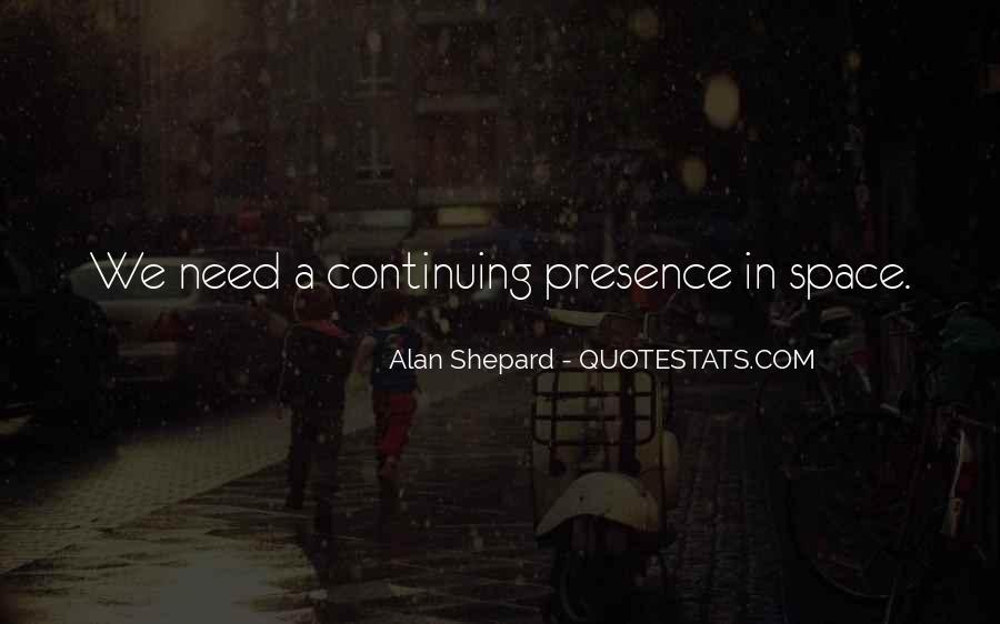 Alan Shepard Quotes #383675
