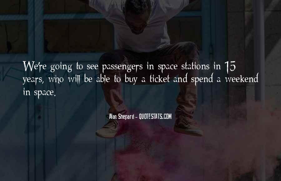 Alan Shepard Quotes #527039