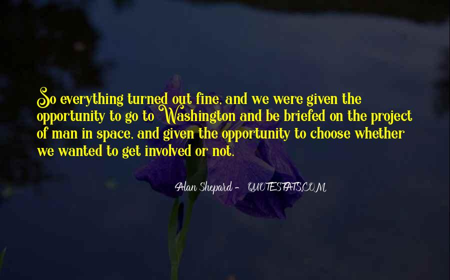 Alan Shepard Quotes #804656