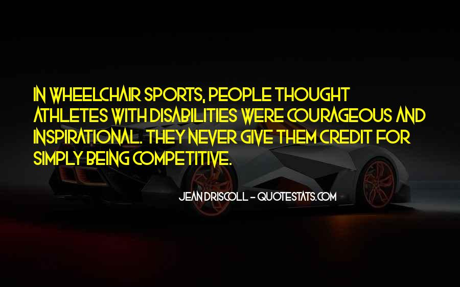 Quotes About Sports Inspirational #469540