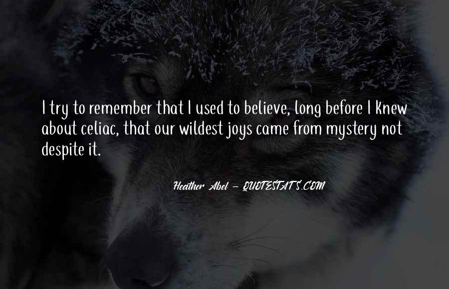 Quotes About Celiac #966130