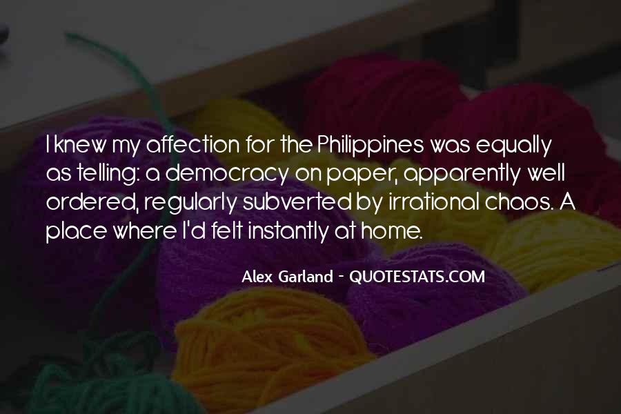 Alex Garland Quotes #1868298