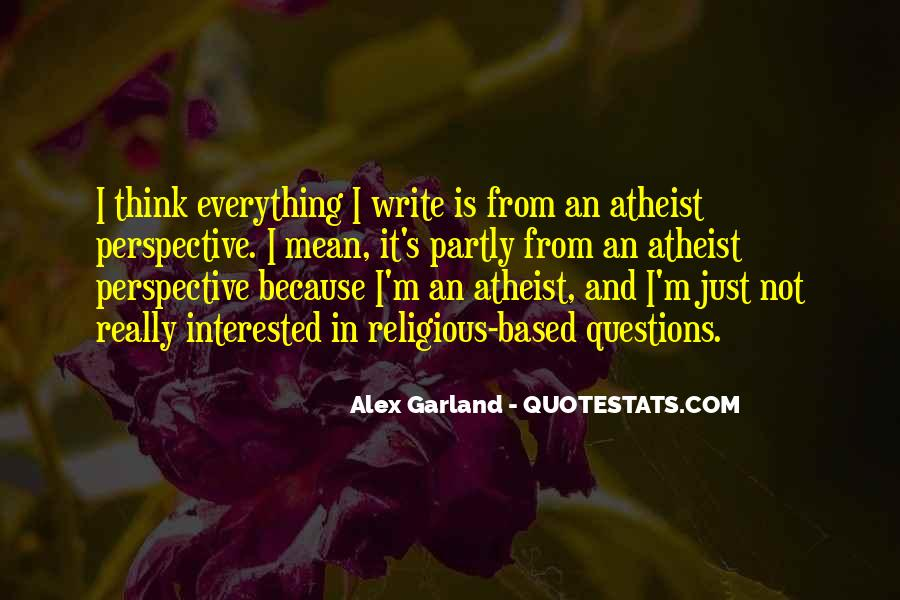 Alex Garland Quotes #41845