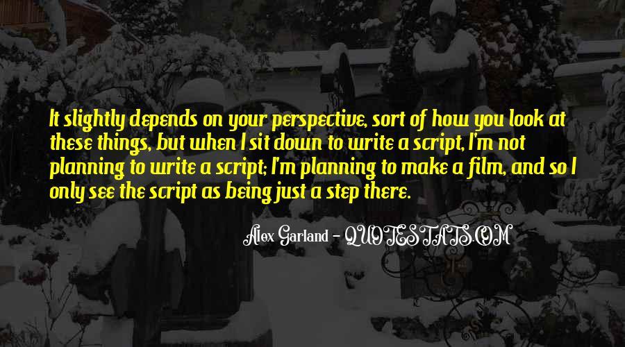 Alex Garland Quotes #901943