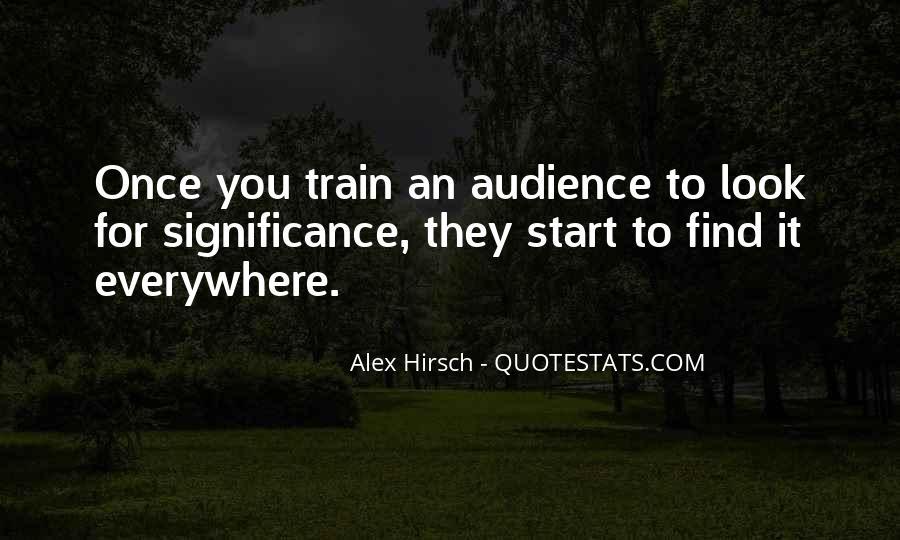 Alex Hirsch Quotes #1200747