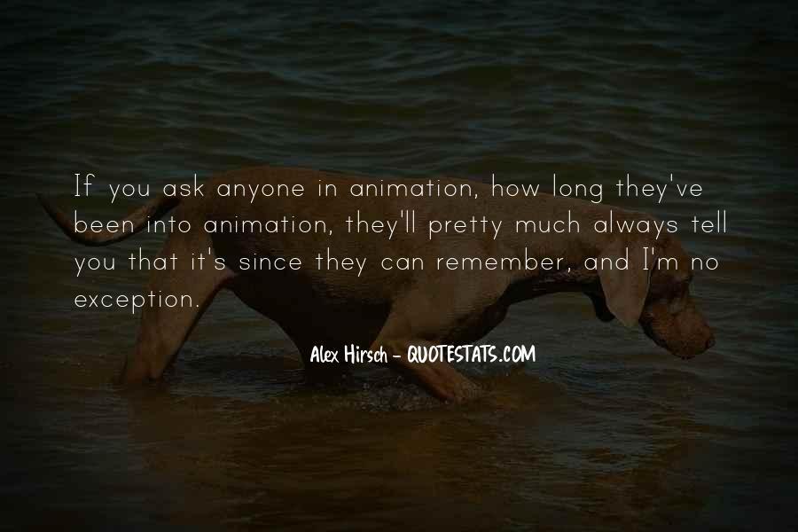 Alex Hirsch Quotes #385325
