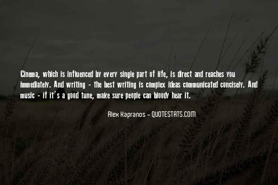 Alex Kapranos Quotes #829028