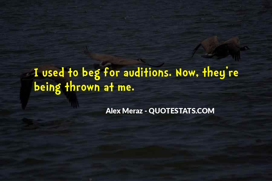 Alex Meraz Quotes #1196038