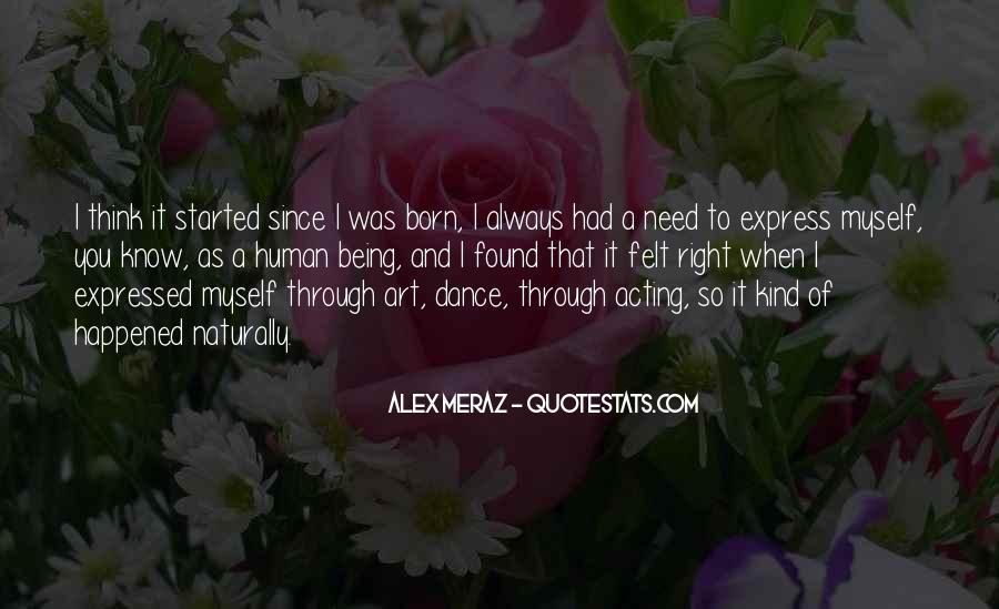 Alex Meraz Quotes #365697