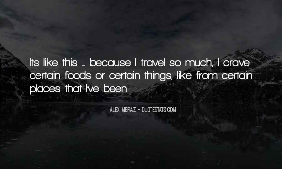 Alex Meraz Quotes #729605