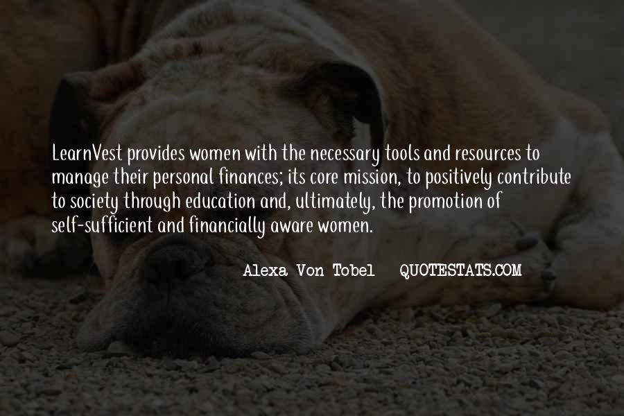 Alexa Von Tobel Quotes #1198764
