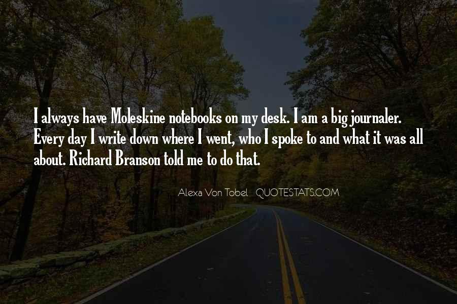 Alexa Von Tobel Quotes #1209672