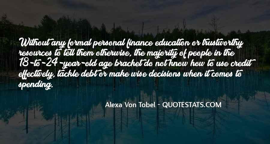 Alexa Von Tobel Quotes #1724000