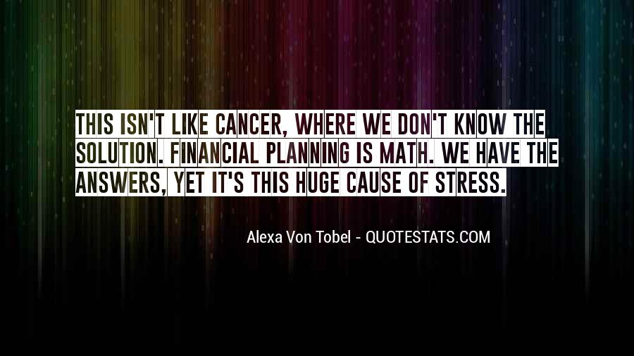 Alexa Von Tobel Quotes #222062