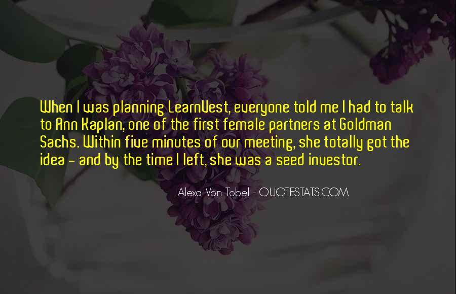 Alexa Von Tobel Quotes #599707