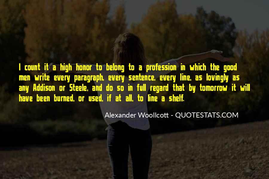 Alexander Woollcott Quotes #341451
