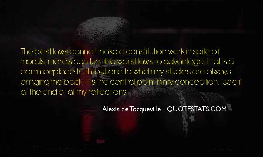 Alexis De Tocqueville Quotes #101130