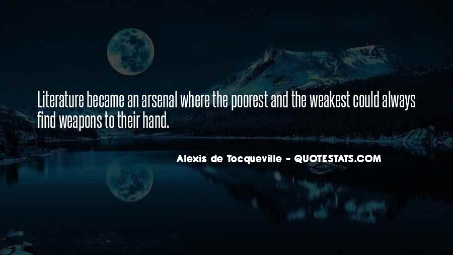 Alexis De Tocqueville Quotes #109445