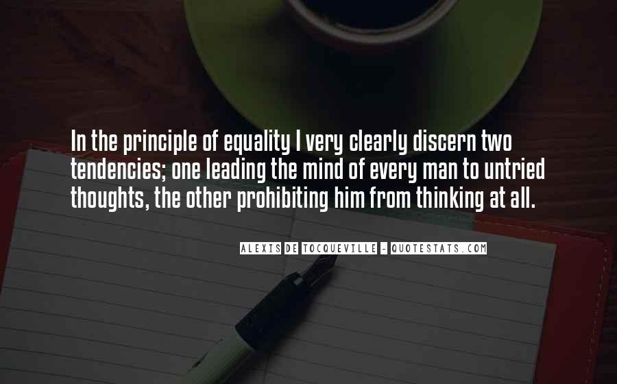 Alexis De Tocqueville Quotes #110273
