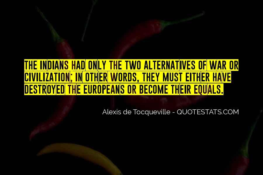 Alexis De Tocqueville Quotes #1242