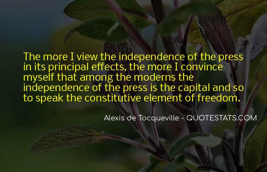 Alexis De Tocqueville Quotes #12458