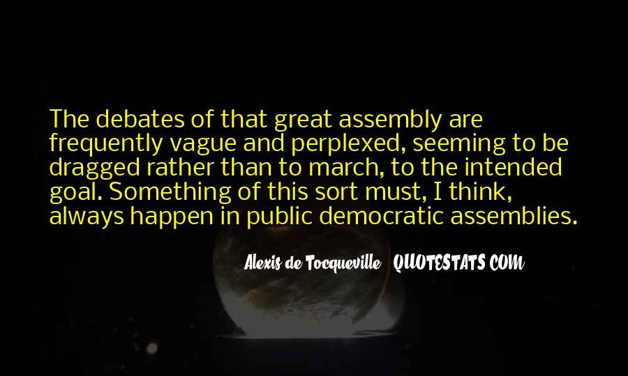 Alexis De Tocqueville Quotes #133262