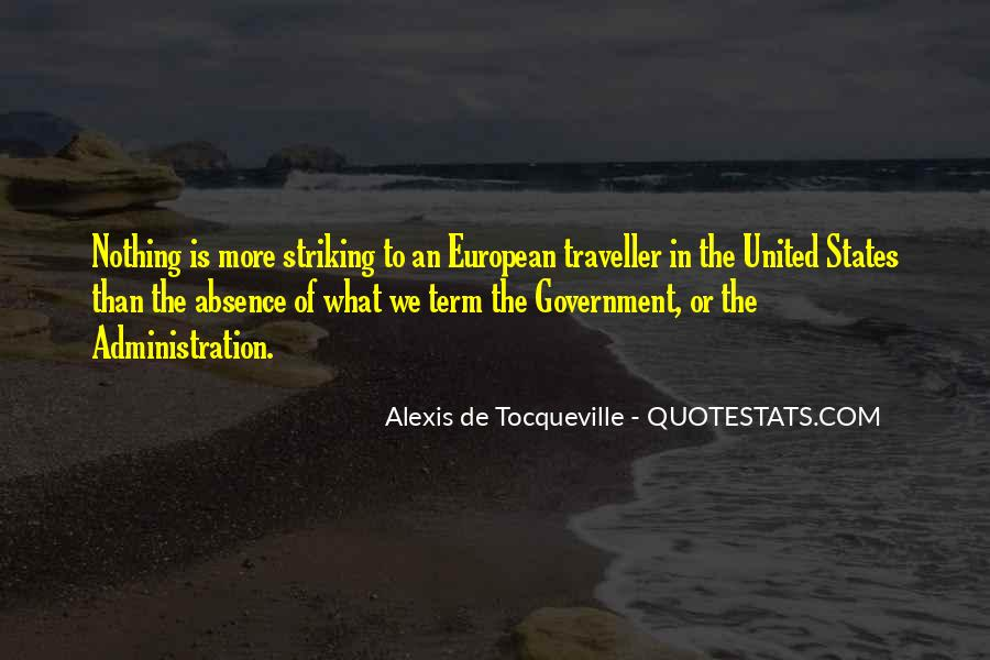 Alexis De Tocqueville Quotes #137096