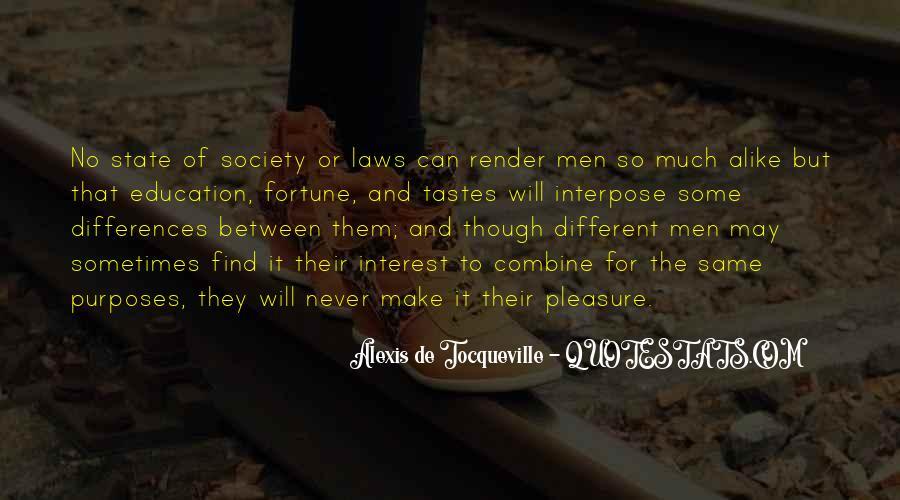 Alexis De Tocqueville Quotes #150756