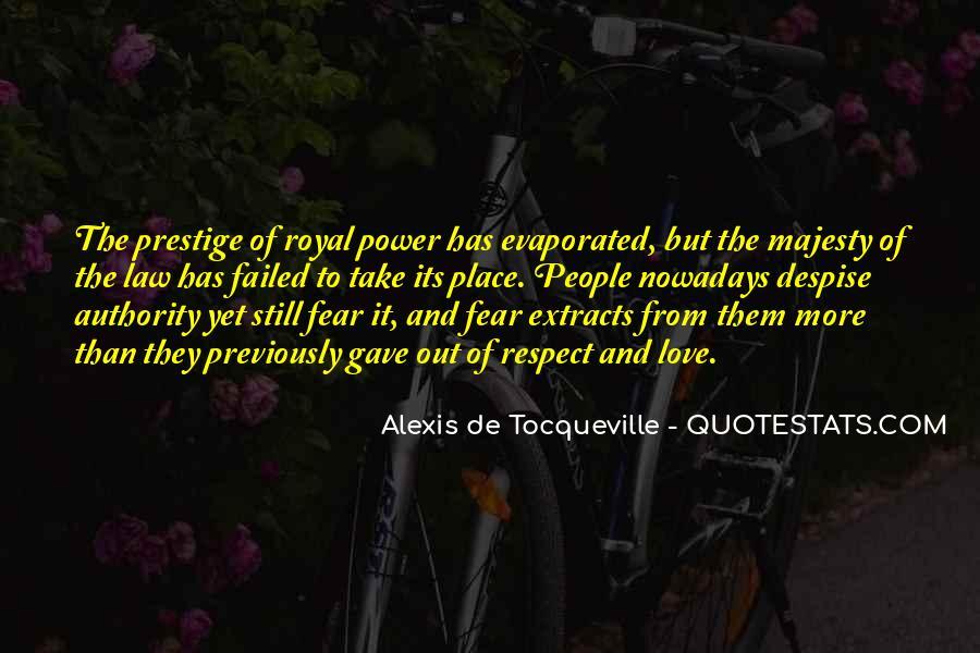 Alexis De Tocqueville Quotes #154416