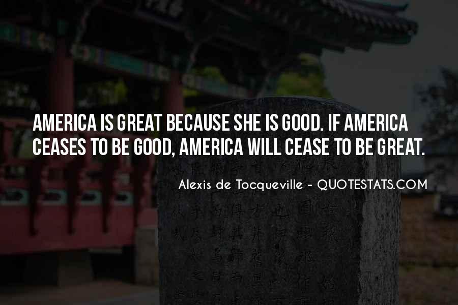 Alexis De Tocqueville Quotes #159719