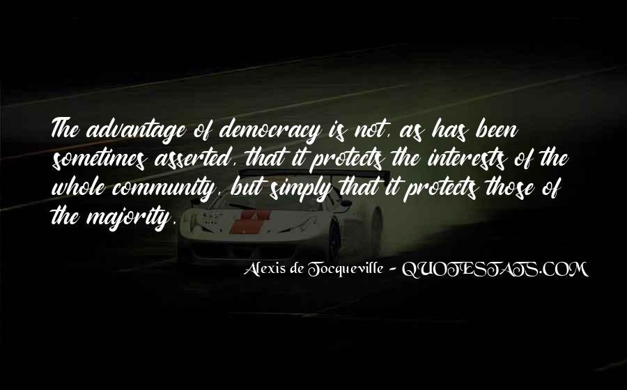 Alexis De Tocqueville Quotes #175175