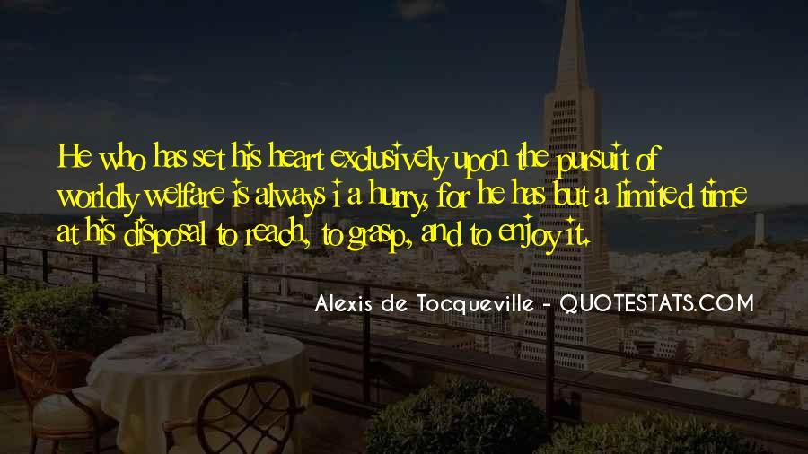 Alexis De Tocqueville Quotes #17874