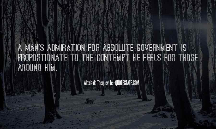 Alexis De Tocqueville Quotes #191335