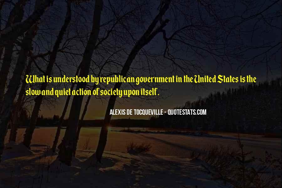 Alexis De Tocqueville Quotes #201126