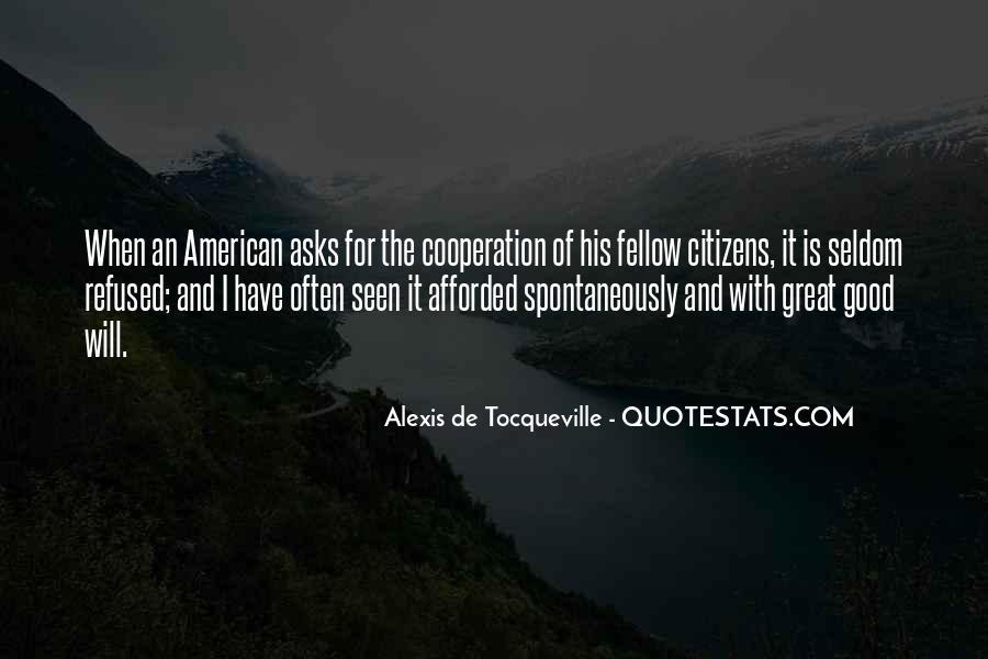 Alexis De Tocqueville Quotes #232703