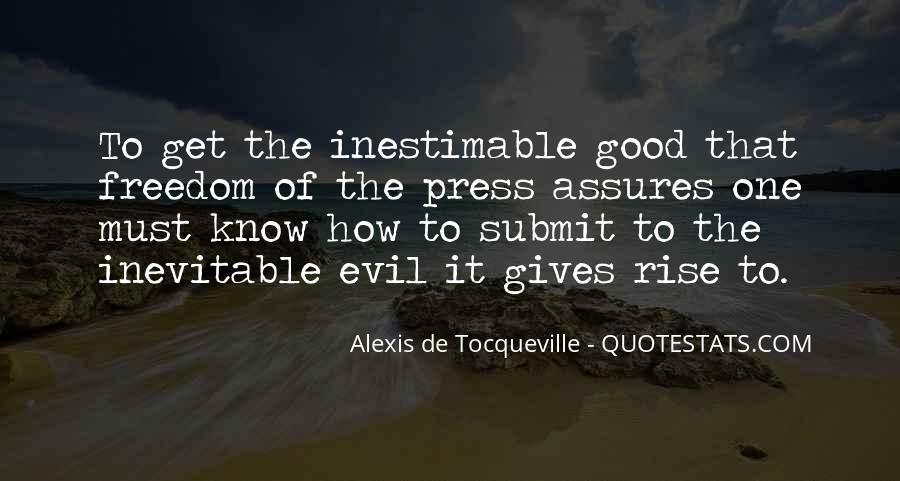Alexis De Tocqueville Quotes #235107