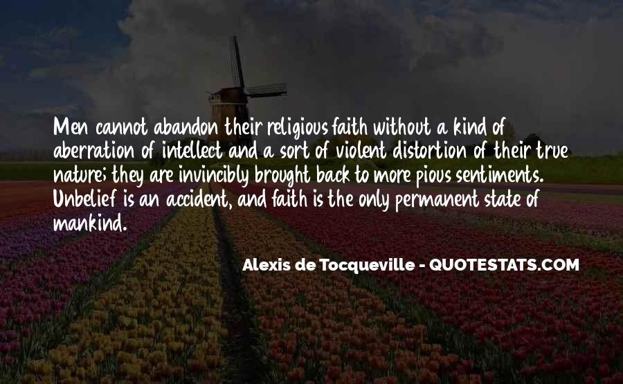Alexis De Tocqueville Quotes #268539