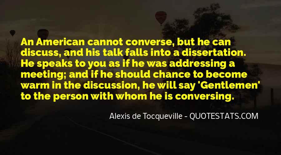 Alexis De Tocqueville Quotes #311094