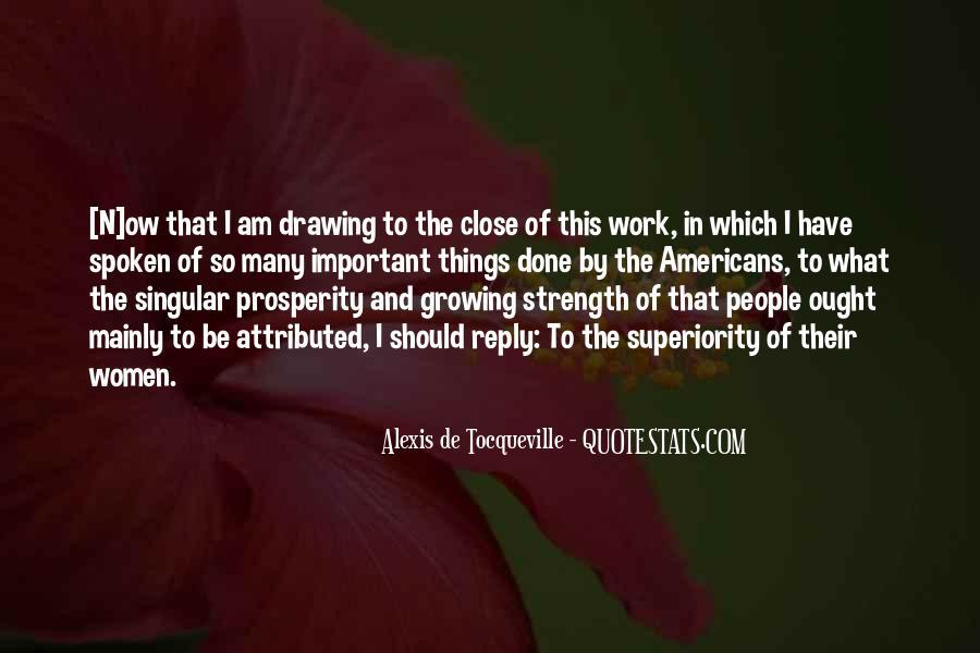 Alexis De Tocqueville Quotes #320629