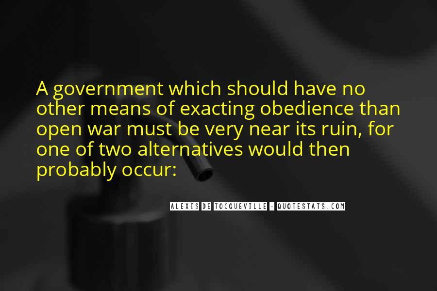 Alexis De Tocqueville Quotes #356622