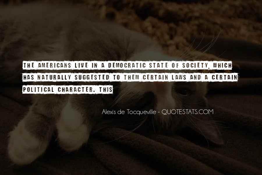 Alexis De Tocqueville Quotes #36133