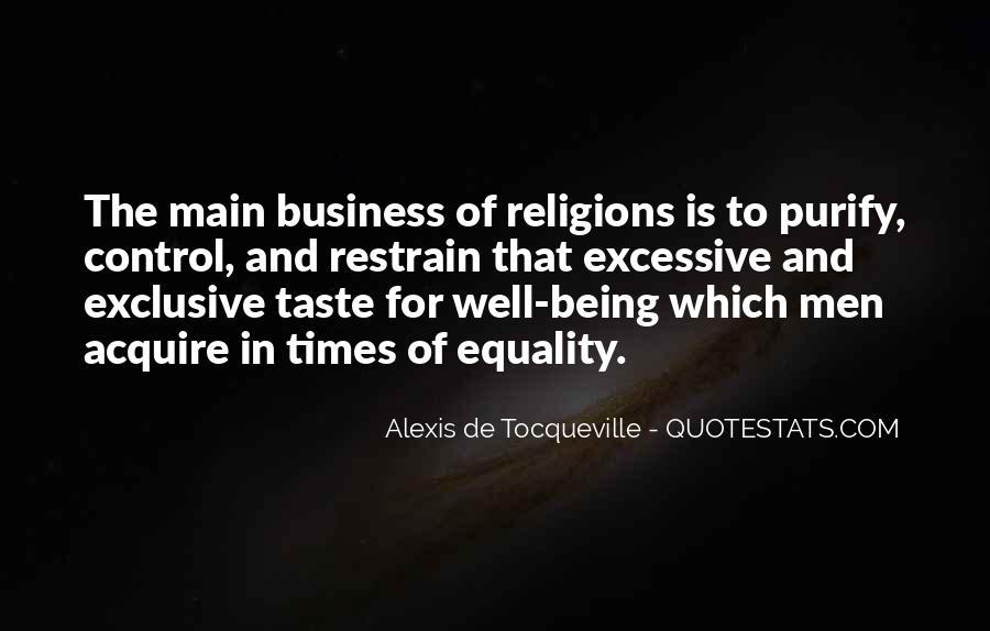 Alexis De Tocqueville Quotes #394575