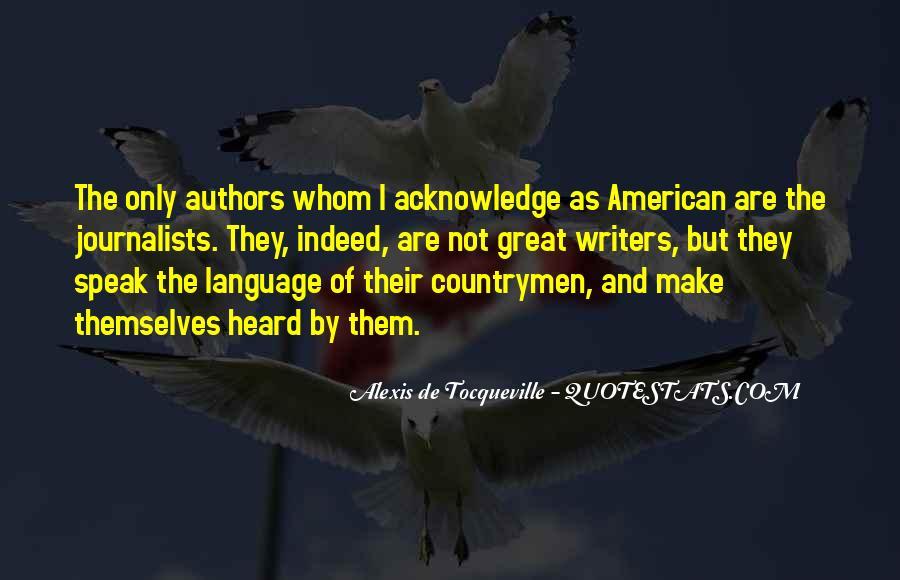 Alexis De Tocqueville Quotes #42328