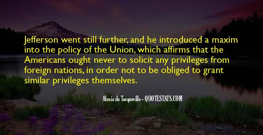 Alexis De Tocqueville Quotes #435328