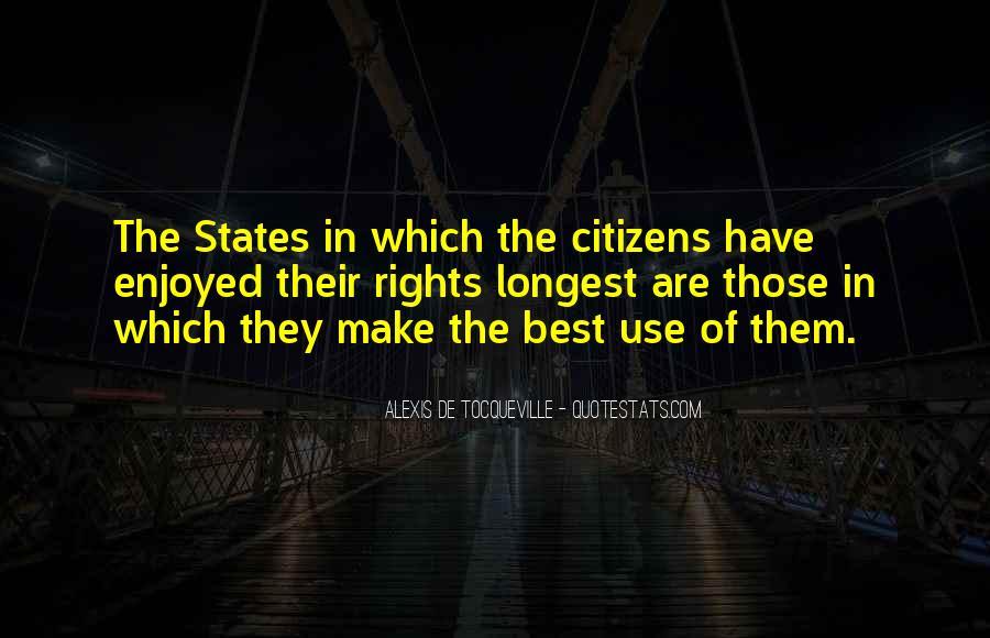Alexis De Tocqueville Quotes #452104