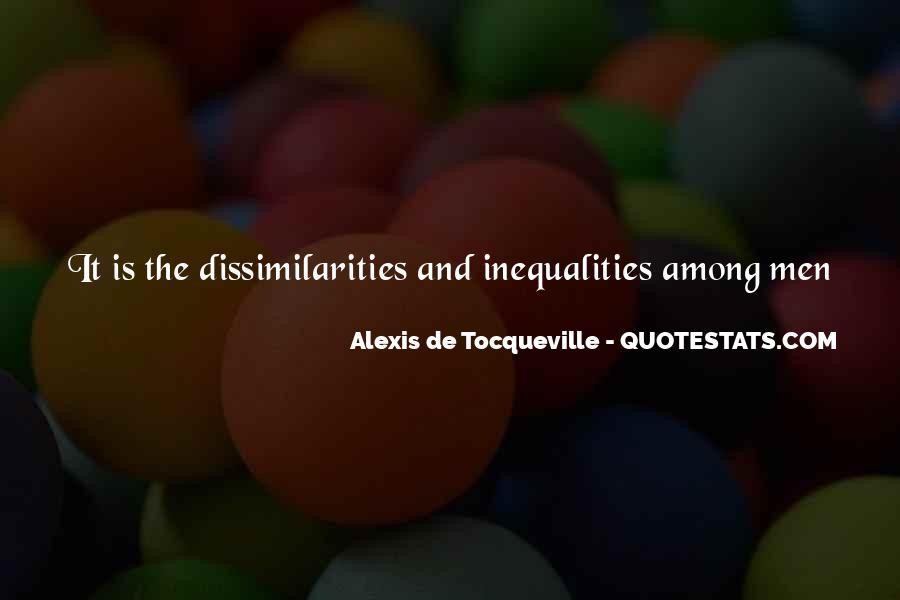 Alexis De Tocqueville Quotes #466037